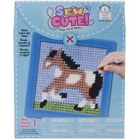 Learn To Sew Needlepoint Kit NOTM287613