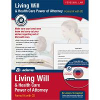 Adams Living Will/Power of Attorney Forms ABFK306