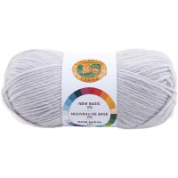 Lion Brand New Basic 175 Yarn - Whisper NOTM065540