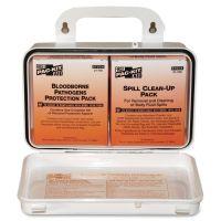 """Pac-Kit Small Industrial Bloodborne Pathogen Kit, Plastic Case, 4.5""""H x 7.5""""W x 2.75""""D PKT3060"""