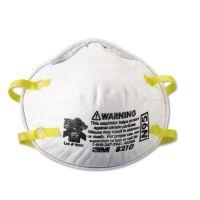 3M Lightweight Particulate Respirator 8210, N95, 20/Box MMM8210