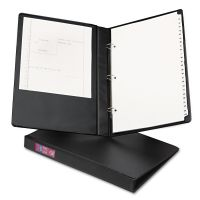 "Avery Legal Durable Non-View Binder with Round Rings, 14 x 8 1/2, 1"" Capacity, Black AVE06400"