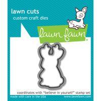 Lawn Cuts Believe In Yourself Custom Craft Die NOTM355563