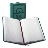 Boorum & Pease Record/Account Book, Record Rule, Blue, 500 Pages, 12 1/8 x 7 5/8 BOR66500R