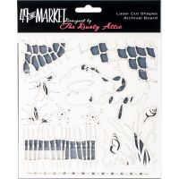 "49 And Market Archival Chipboard 6""X6"" NOTM236338"