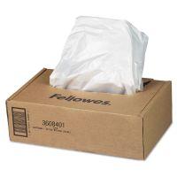 Fellowes AutoMax Shredder Waste Bags, 16-20 gal, 50/CT FEL3608401