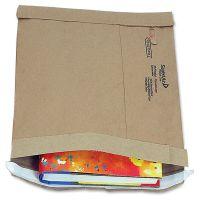 Sealed Air Jiffy Padded Self Seal Mailer, #6, 12 1/2 x 19, Natural Kraft, 50/CT SEL64371