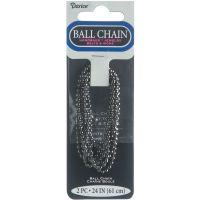 "Ball Chain 2.4mmX24"" 2/Pkg NOTM228925"