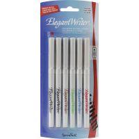 Speedball Elegant Writer Calligraphy Markers 6/Pkg NOTM385473