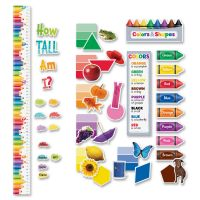 Creative Teaching Press Colors/Growth Chart Bulletin Board Set CTC8904