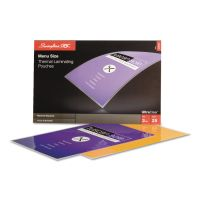 Swingline GBC UltraClear Thermal Laminating Pouches, 3 mil, 11 1/2 x 17 1/2, 25/Pack SWI3200579