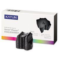Katun 37994 Compatible 108R00726 Solid Ink Stick, Black, 3/BX KAT37994