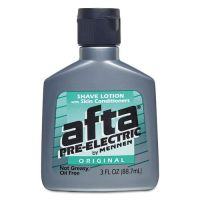 Afta Pre Electric Shave Lotion, 3 oz Bottle, 24/Carton CPC27656