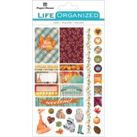 "Paper House Life Organized Planner Stickers 4.5""X7.5"" NOTM529186"