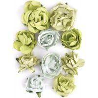 "Paper Blooms 1"" To 1.5"" 10/Pkg NOTM465728"