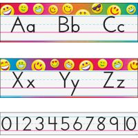 Trend Alphabet Bulletin Board Sets TEP8288