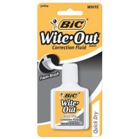 Wite-Out Quick Dry Correction Fluid BICWOFQDP1WHI