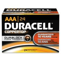 Duracell CopperTop AAA Batteries DUR02401