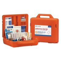 First Aid Only ANSI Class A+ First Aid Kit for 50 People, Weatherproof, 215 Pieces FAO90699