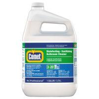 Comet Disinfecting-Sanitizing Bathroom Cleaner, One Gallon Bottle, 3/Carton PGC22570CT