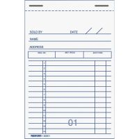 Rediform 2-Part Carbonized Sales Receipt Book RED5B201