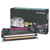 Lexmark X746A1MG Toner, 7000 Page-Yield, Magenta LEXX746A1MG