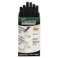 Dri-Mark Smart Money Counterfeit Bill Detector Pen for Use w/U.S. Currency, Dozen DRI351R1