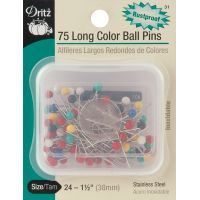 Long Color Ball Pins NOTM081264