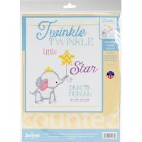 Twinkle Twinkle Little Star Counted Cross Stitch Kit NOTM052755