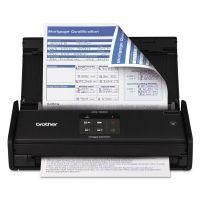 Brother ImageCenter ADS-1000W Wireless Compact Scanner, 600 x 600 dpi, 20 Sheet ADF BRTADS1000W