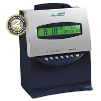 Acroprint ES1000 Totalizing Digital Automatic Payroll Recorder/Time Clock, Blue and Silver ACP010215000