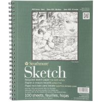 Strathmore Premium Recycled Acid Free Sketch Book  NOTM457774