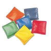 "Champion Sports Bean Bag Set, Vinyl, 4"", Assorted Colors, Dozen CSIMBB4SET"