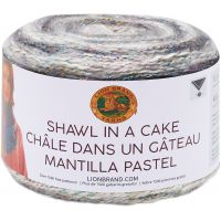 Lion Brand Shawl in a Cake Yarn NOTM064647