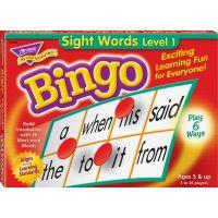 Sight Words Level 1 Bingo Game TEPT6064