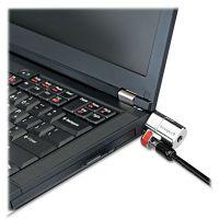 Kensington ClickSafe Keyed Laptop Lock, 5ft Cable, Black KMW64637