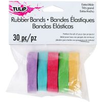 Tulip Wide Rubber Bands 30/Pkg NOTM053766