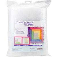 Quilt As You Go Express Printed Quilt Blocks On Batting NOTM084947