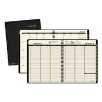 AT-A-GLANCE Recycled Weekly/Monthly Classic Appointment Book, 6 7/8 x 8, Black, 2019 AAG70951G05