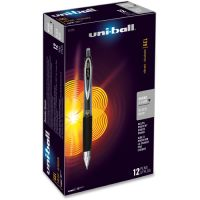 uni-ball Signo 207 Retractable Gel Pen, Black Ink, 0.5mm, Dozen SAN61255