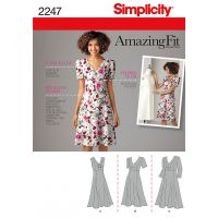 SIMPLICITY MISSES DRESSES NOTM495171