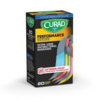 Curad Extra Long Antibacterial Bandages MIICUR5019