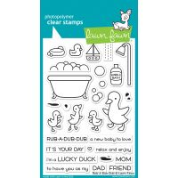"""Lawn Fawn Clear Stamps 4""""X6"""" NOTM366795"""