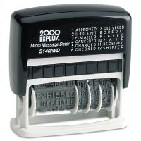 COSCO 2000PLUS Micro Message Dater, Self-Inking COS011090