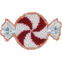 Peppermint Candy Counted Cross Stitch Kit NOTM052687