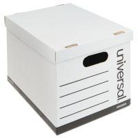 Universal Economy Boxes, 12 x 15 x 9 7/8, White, 10/Carton UNV25223