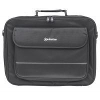 "Manhattan Empire II 17"" Laptop Briefcase, Black SYNX3434786"