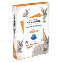 Hammermill Fore MP Multipurpose Paper, 96 Brightness, 20 lb, A4, White, 500 Sheets/Ream HAM103036
