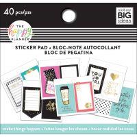Happy Planner Tiny Sticker Pad NOTM378613