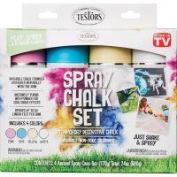 Testors Spray Chalk Set RST306006